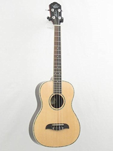 Oscar Schmidt OU53 Solid Spruce Top Baritone Size Ukulele w/Hard Case and More