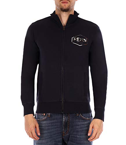 - Penn-Rich Blue Sweatshirt with M Logo