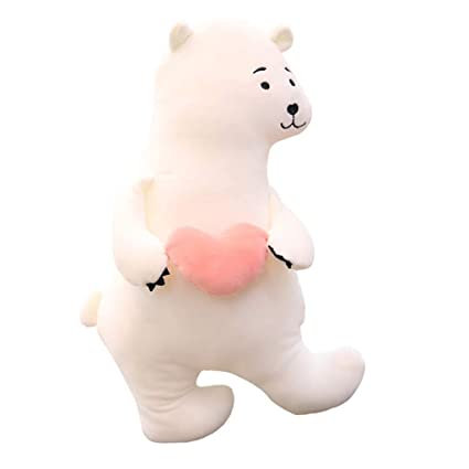 Amazon Com Gbell Cute Giant Polar Bear Plush Toys Kids Large Soft