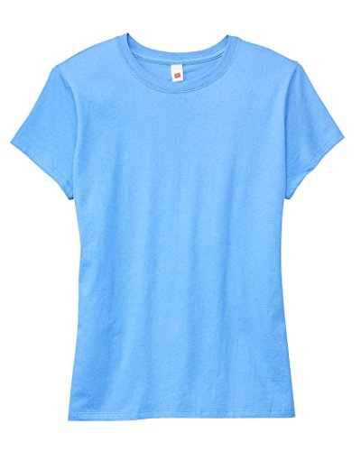 b372500eb5 Hanes Women s Relaxed Fit Jersey ComfortSoft Crewneck T-Shirt 5680 ...