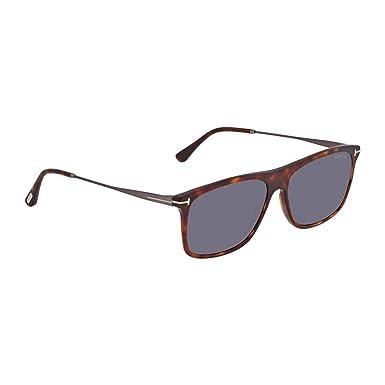 Amazon.com: anteojos de sol TOM FORD ft 0588 Max- 02 54 V ...