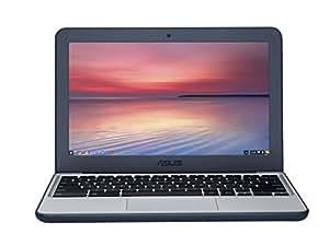"""ASUS Chromebook C202SA-GJ0026 - Ordenador portátil, N3060, Intel Celeron, 1.6GHz, 11.6"""", 1366 x 768 pixeles), color azul/ blanco [teclado Francés - AZERTY]"""