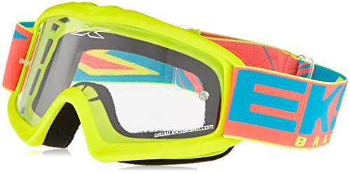 EKS Xgrom Series Masque de Motocross Mixte Enfant, Jaune