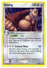 Pokemon - Slaking (13) - EX Power Keepers - Holofoil