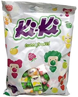 Kiki Tutti Frutti Mix Toffee, 400g (14.1 oz)