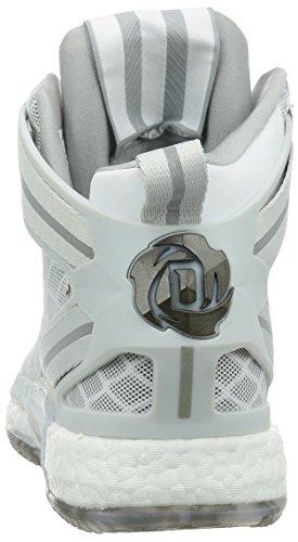 Scarpe Da Basket Adidas Rose 6 Boost Da Uomo, Taglia Light Onix / Running White-clear Grey