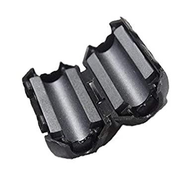 10pcs 3.0mm Anti-Interference Noise Filters Ferrite Core Choke Clip for Telephones,Tvs,Speakers,Video,Radio,Audio Equipment /& Appliances Power Audio VSKEY Noise Filter Cable Ring 10 pcs