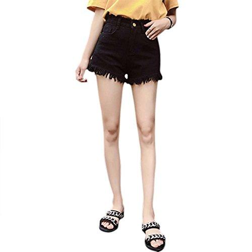 服を片付けるダムアスペクトBOBORA デニム ショートパンツ 切りっぱなし レディース ショーパン 美脚効果 女性夏 デニムパンツ ゆったり ボトムス カジュアル ファッション ハイウエスト