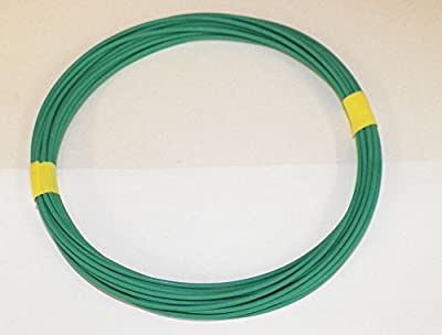 Light Green, 18 GA Gauge AWG GXL Wire, 100' Spool, For Automotive, Truck, Motorcycle, RV. General Purpose Copper .94 O.D. Abrasion Resistance, High Heat