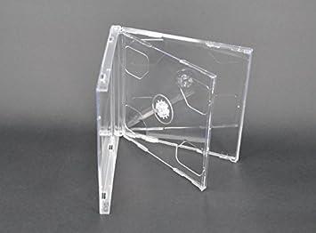 Vision Media - 10 x Estuches Dobles Transparentes para CDs ...