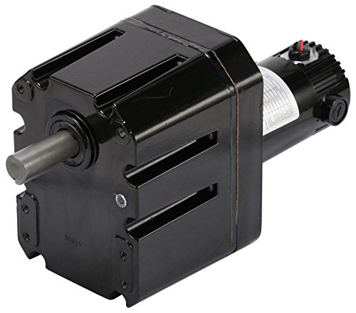 Bison 011-656-2206 Gear Motor, IP43, 1/20 hp, 2206:1 Ratio, 0.9 rpm, 90 VDC, 710 Inch-Pounds