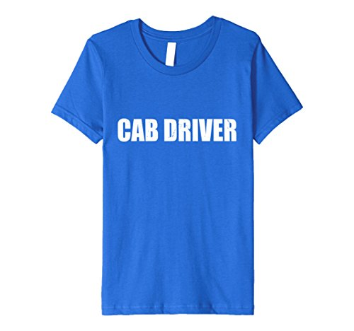 Cab Driver Costume (Kids Cab Driver Halloween Costume Party Cute & Funny T shirt 12 Royal Blue)
