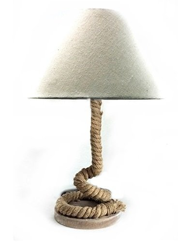 Modern Home Nautical Pier Rope Table Lamp - Large