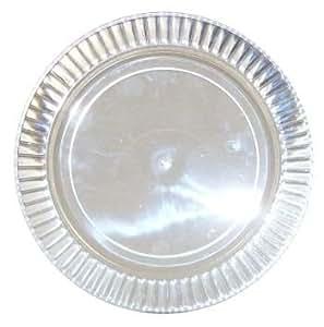 Lumiere Clear Plastic Dinner Plates 10 Per Pack Ki