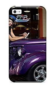 1048761K23532269 Case Cover Protector Specially Made For iPhone 6 4.7 Girls And Cars