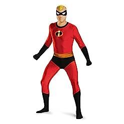 Disney Disguise Men's Mr. Incredible Bodysuit Skinovation Costume 41fHXdEe58L