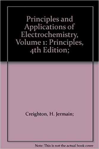 Principles and Applications of Electrochemistry, Volume 1: