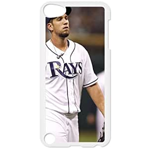 MLB IPod Touch 5 White Tampa Bay Devil Rays cell phone cases&Gift Holiday&Christmas Gifts NADL7B8825705