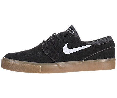 Nike Zoom Stefan Janoski Skate Shoe - Men's Black/White Gum, 11.0