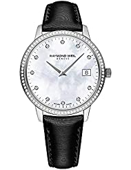 Raymond Weil Toccata Mother of Pearl Diamond Dial Ladies Watch 5388-SLS-97081