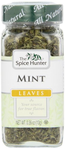 The Spice Hunter Mint Leaves, 0.36-Ounce Jar