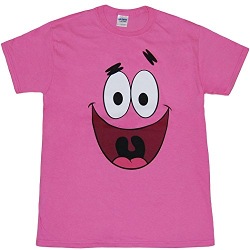 Animation Shops Spongebob Patrick Star Face (Spongebob Ladies Tee)