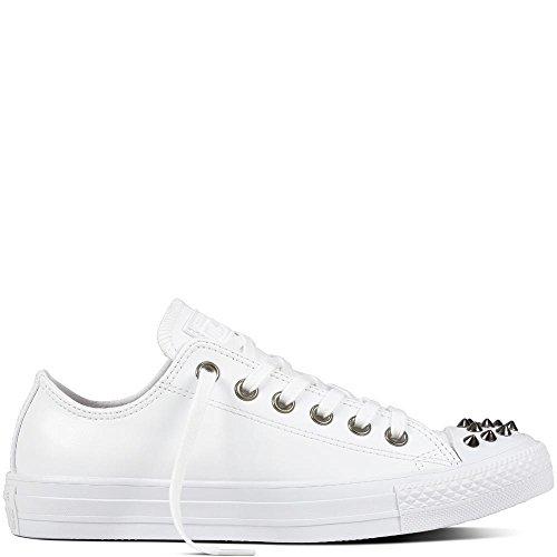 Converse Chuck Taylor CTAS Ox Canvas, Chaussures de Fitness Femme