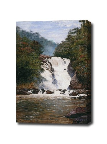 almeida-junior-cascata-do-votorantim-1893-canvas-art-print-wrapped-edge-16-x-22