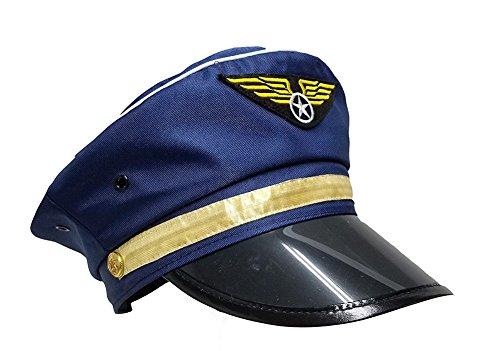 Airline Captain Pilot Aviator Airplane Costume (Flight Captain Womens Costumes)