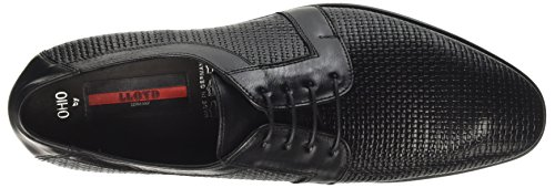 Schwarz de Negro Cordones para Derby Ohio Hombre Lloyd Zapatos 0 8wx7TB