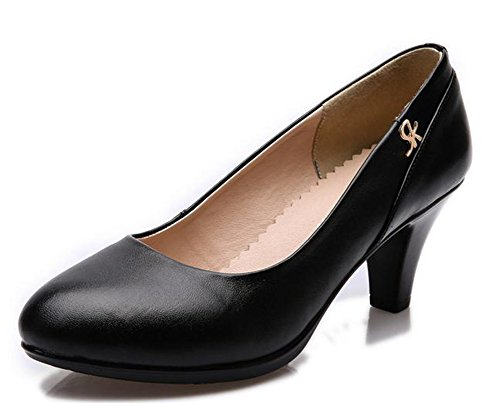 YTTY Pure black Shoes Pure YTTY Shoes 36 vwC8qw1