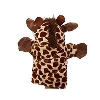 Soft Plush Giraffe Hand Puppet Cute Giraffe Shaped Hand Puppet toySoft to wear: Home & Kitchen