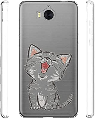 coque huawei y6 2017 chaton
