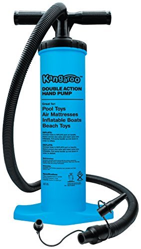 Kangaroo's Air Pump, Inflatable Pool Pump, Mattress Pump, Hand Pump by Kangaroo