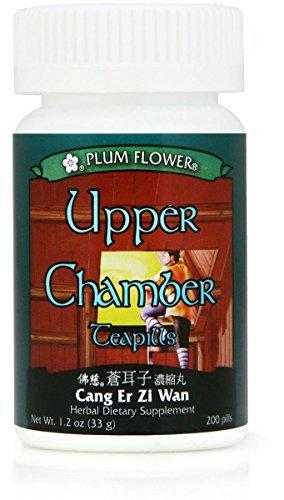 Upper Chamber Teapills, Cang Er Zi Wan, 200 Pills Review