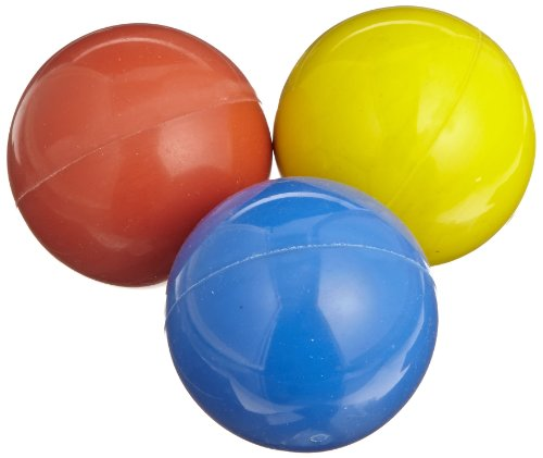 Sportime Professor Confidence Juggling Ball Set, 2 Inch, Assorted Color, Set of - Bounce Balls Juggling
