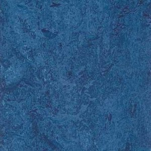 Forbo marmoleum blue natural linoleum tile flooring 13 for Linoleum cork