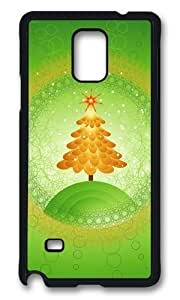MOKSHOP Adorable Green Christmas Tree Hard Case Protective Shell Cell Phone Cover For Samsung Galaxy Note 4 - PCBKimberly Kurzendoerfer