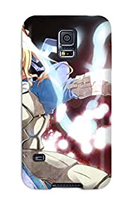 Tpu Case Cover For Galaxy S5 Strong Protect Case - Fate/stay Night Design