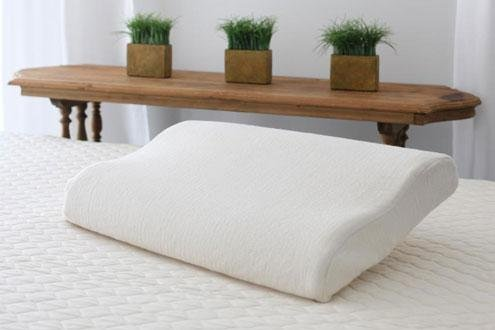 Savvy Rest Organic Mattress (Organic Contour Latex Pillow Full)