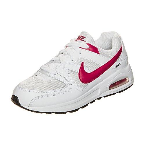 Nike Air Max Command Flex Sneaker niños, weiß / fuchsia