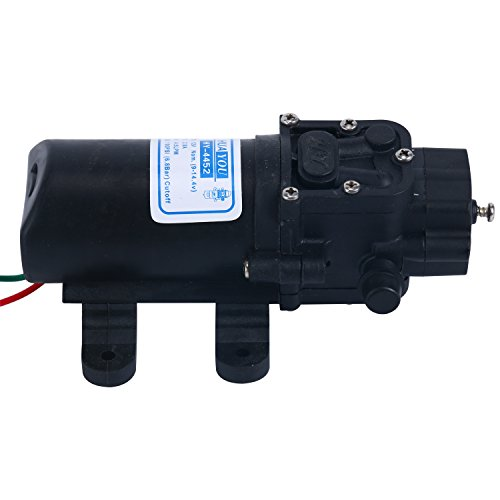 Amarine-made 12v Water Pressure Diaphragm Pump 4.5 L/min 1.2 GPM 100 PSI cutoff - Caravan/rv/boat/marine by Amarine-made