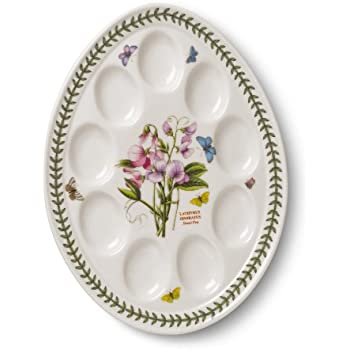 Clay In Motion Handmade Ceramic Deviled Egg Tray Mystic Waters COMINHKPR73412