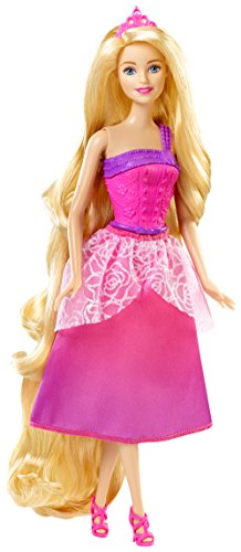 - Barbie Endless Hair Kingdom Princess Doll, Pink