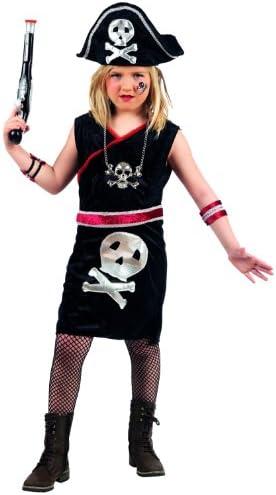Mascarade - Disfraz de pirata para niña, talla 6-10 años (MI793 Gr ...