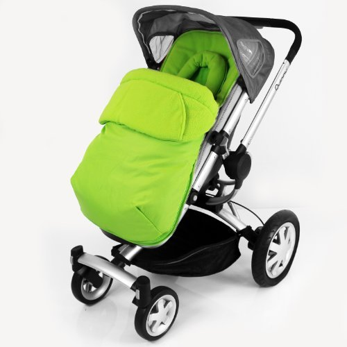 New Quinny Buzz Footmuff And Headhugger - Lime