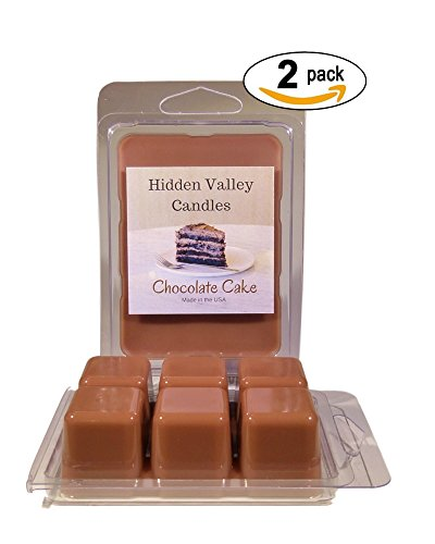 Fudge Creamy Recipes (Hidden Valley Candles Chocolate Layer Cake Scented Wax Melt 2 Pack. A wonderfully delicious fragrance that smells like a dark rich, moist chocolate cake with thick, creamy fudge icing.)