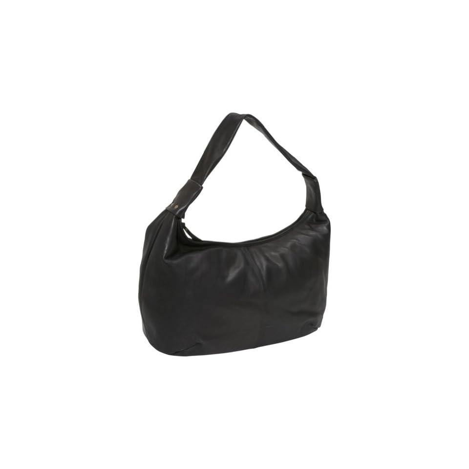Derek Alexander Large top zip hobo (Black) Clothing