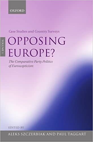 Opposing Europe? The Comparative Party Politics of