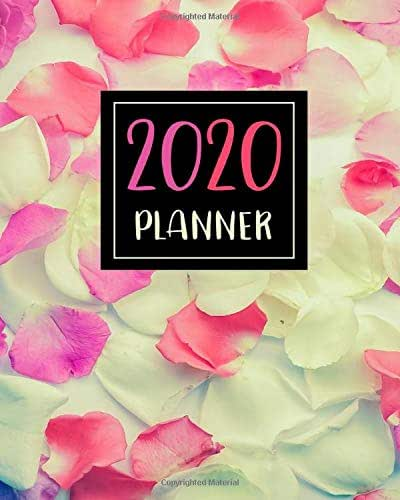 2020 Planner: Yearly Monthly Weekly planner 2020 for work plan / time management / Schedule Organizer / Appointments / Events / Holidays : Good gift idea for Birthday, Christmas , New year